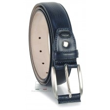 Classic Blue Man's belt high italian quality | Adpel