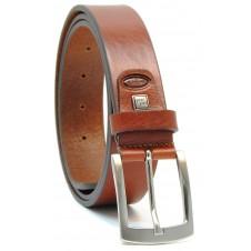 Cintura in Cuoio Volanato Cognac/Stradivari