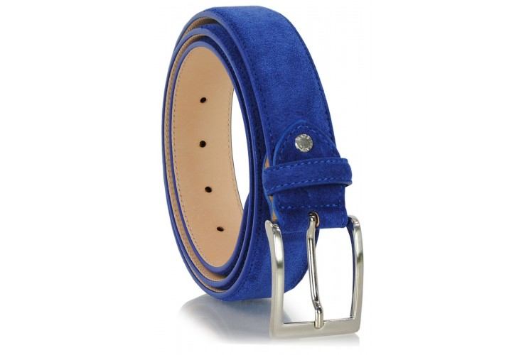 Suede Indigo/Blue belt