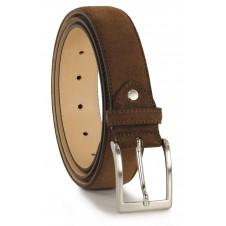 Cintura scamosciata Marrone