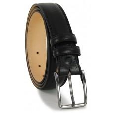 Cintura uomo in pelle Nera 3,5 cm