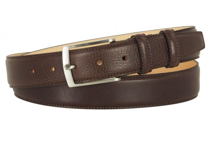 Classic Brown Man's belt high Italian quality