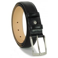 Classic Black Man's belt high Italian quality