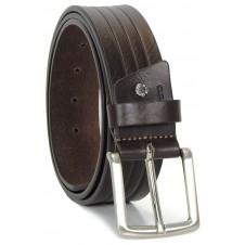 Breiter designer gürtel weich hochwertiges VollRindleder 4cm Braun
