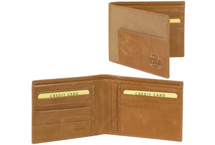 Portafoglio orizzontale maschile documenti identità 8cc (col.vari)