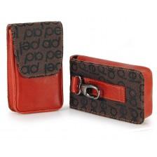 Pochette portasigarette / portacellulare da cintura Arancio/Marrone