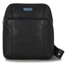 Shoulder bag with iPad pocket 9.7'' Black