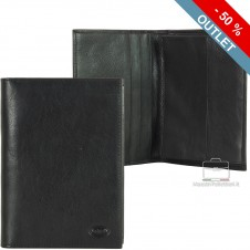 Car's document wallet folder - Italian vegetable leather 16.8 cm