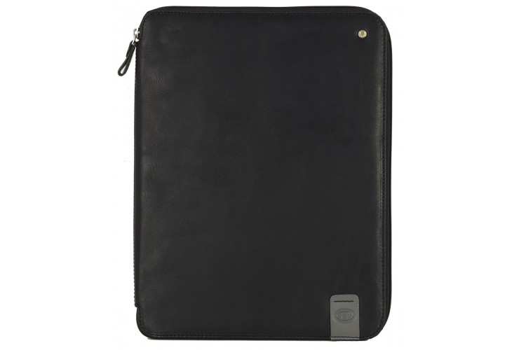 Document holder A4/ in leather Black