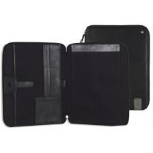 Portablocco A4 / Porta iPad 12.9'' in pelle colore Nero
