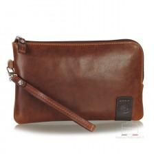 Handgelenktasche lederhandtasche aus leder