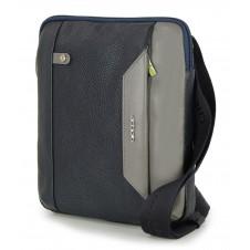 Borsello uomo in pelle Blu porta iPad-Mini