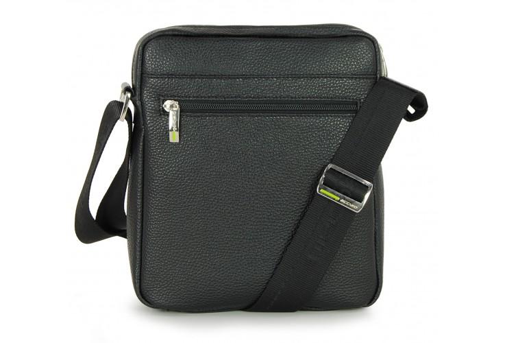 Crossbag Shoulder bag with wide hips 11'' Black