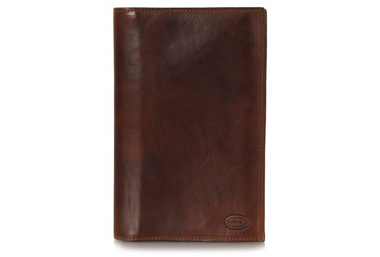 Visitcard book for desk for 108 cards - Italian vegetable leather 19 cm