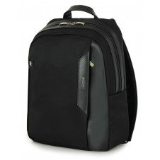 "Backpack for laptop 14"" in nylon-leather Black"
