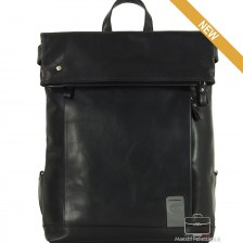 "Zaino Roll Top - porta computer Mac 13"", colore nero"