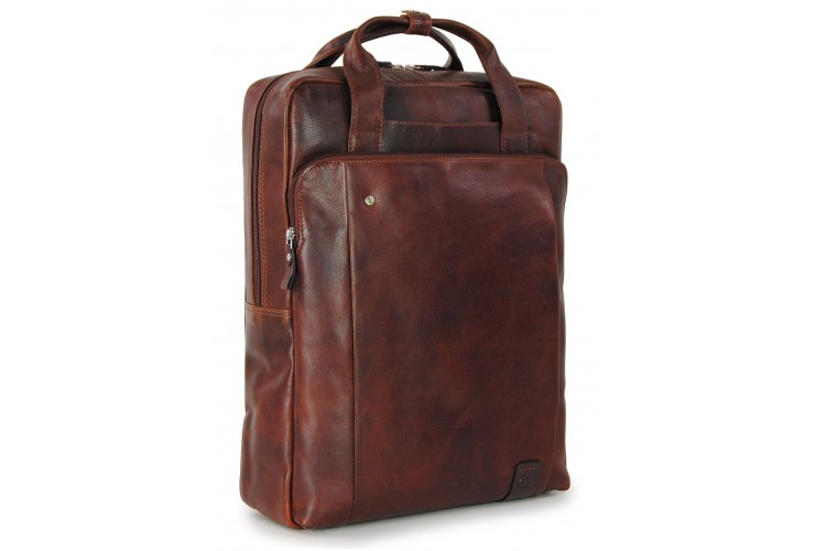 "Laptop Briefcases Backpack Downing St. 16"" Brown/Chestnut"