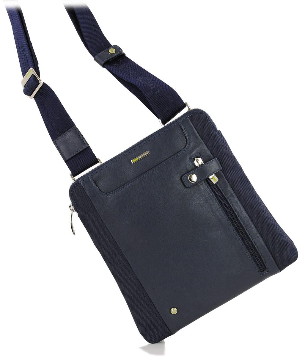 men's shoulder bag blu