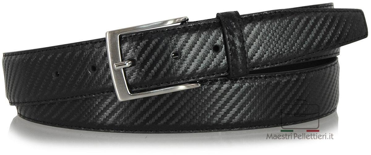 leather belt carbon