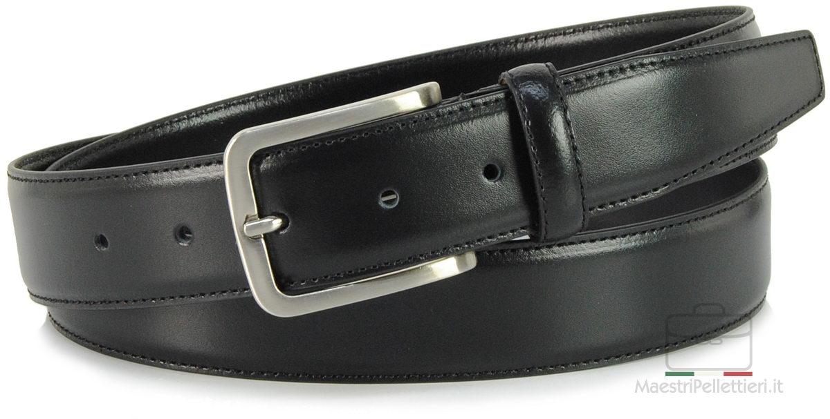 cintura uomo classica nera
