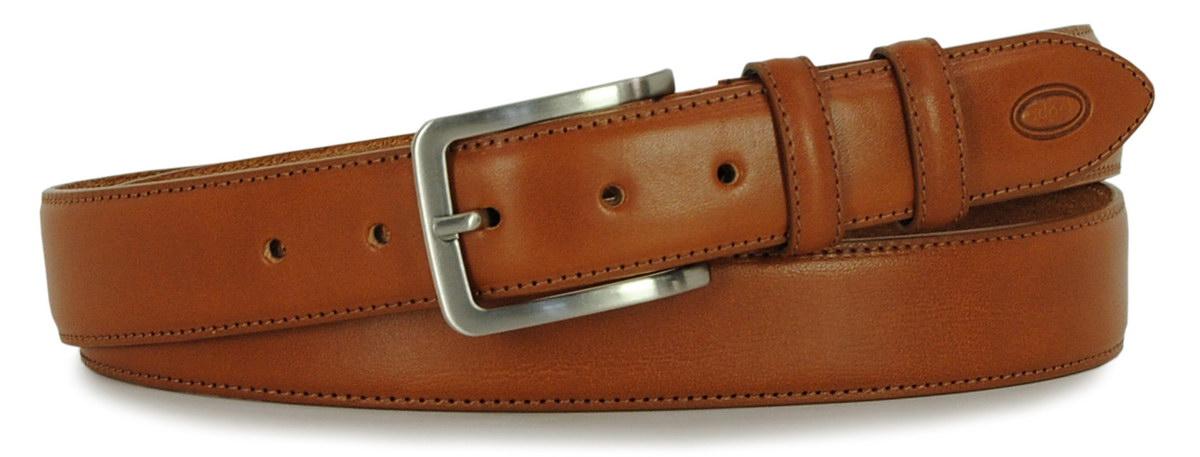 cintura classica da uomo cognac - Adpel