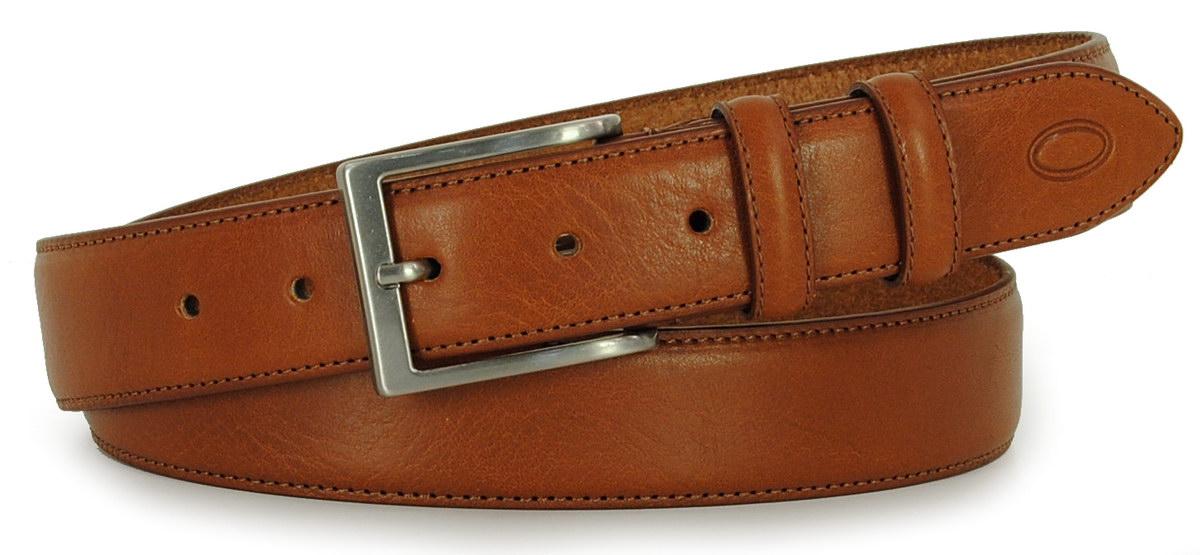 classic man's belt cognac Adpel