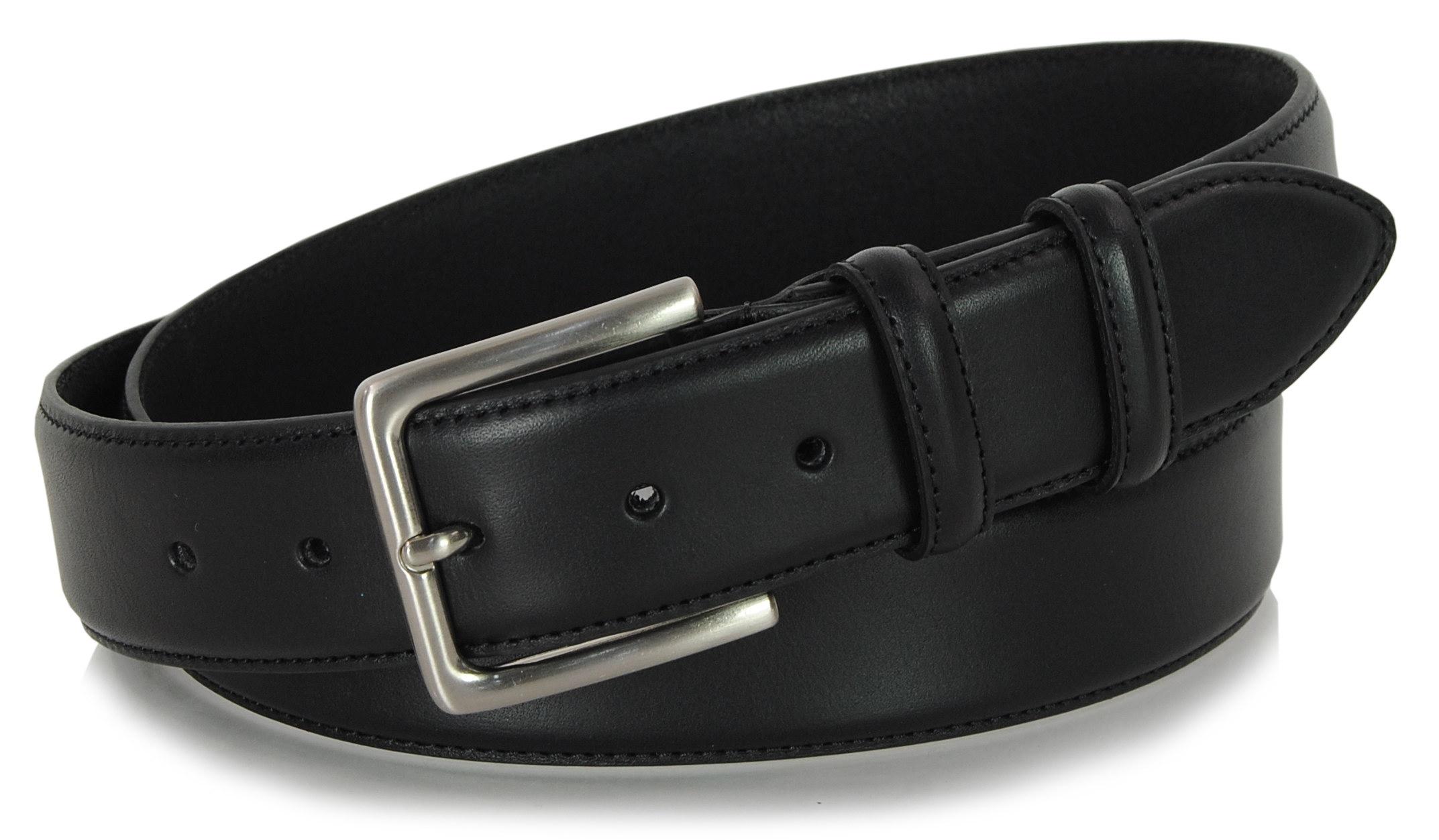men's belt black