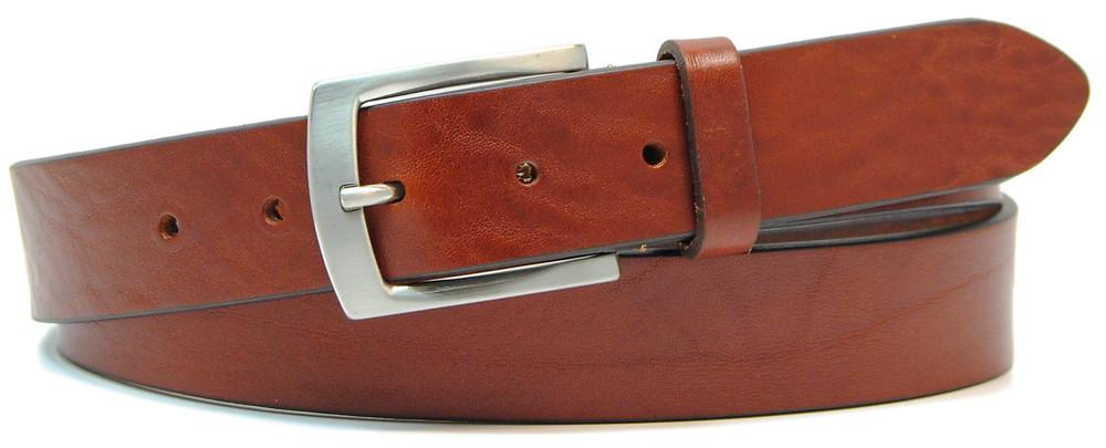 cintura classica da uomo colore cognac - Adpel