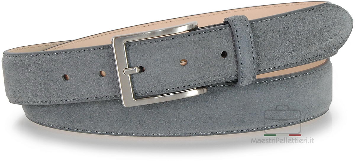 cintura scamosciata grigio | Adpel