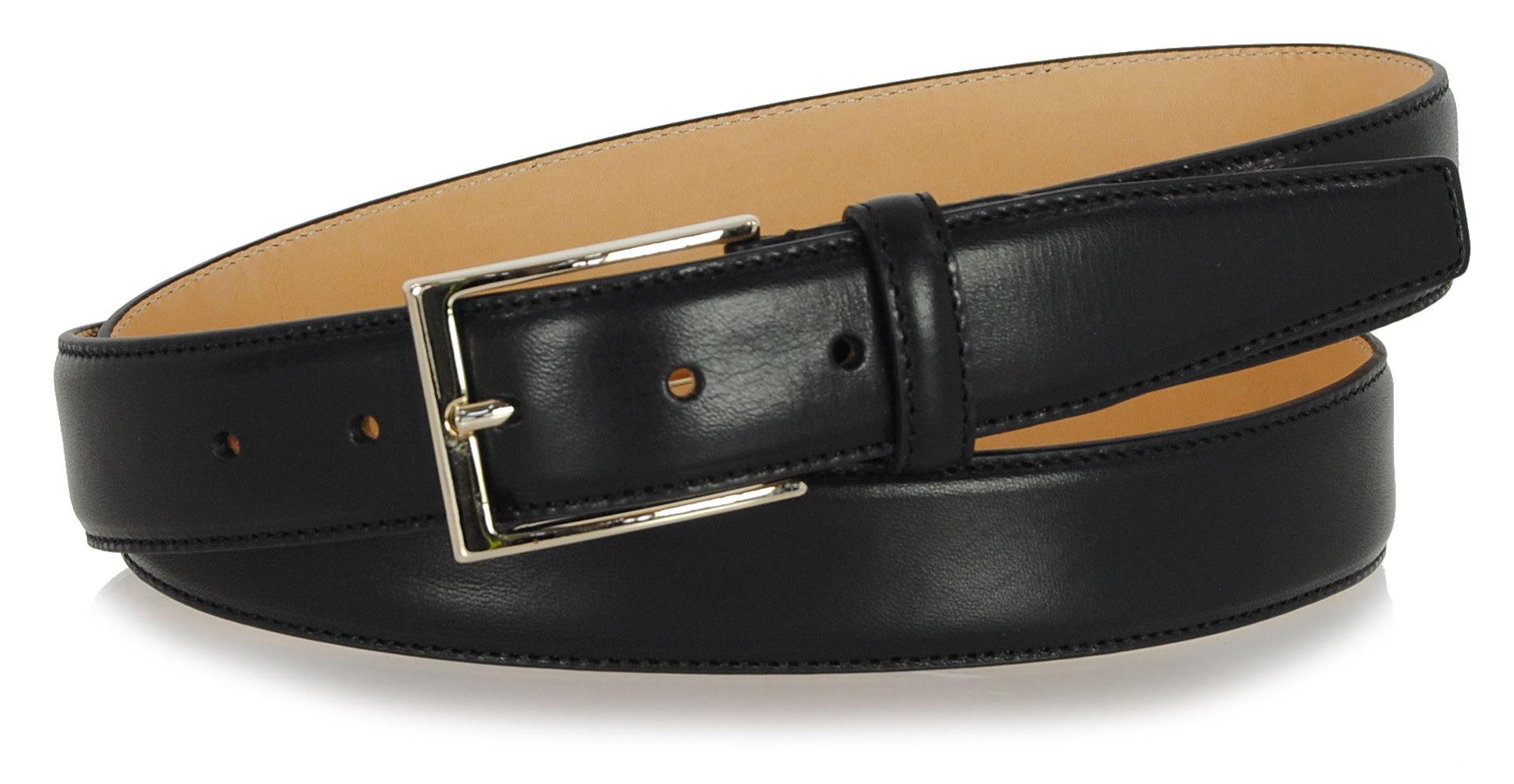 cintura uomo elegante fibbia oro
