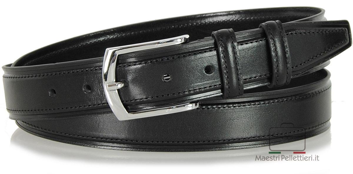 cintura classica uomo