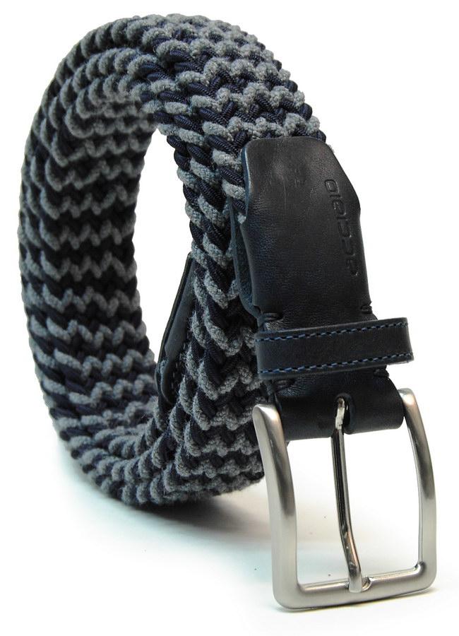 Cintura Intrecciata elastica regolabile con vite nascosta