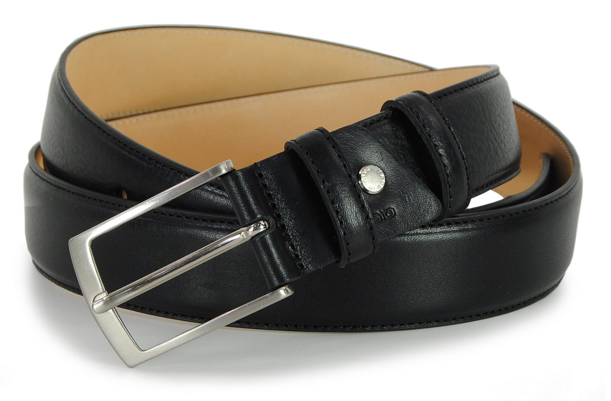 man's belt cognac