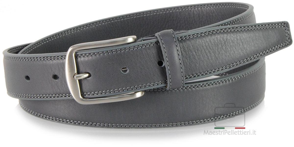 cintura uomo grigio