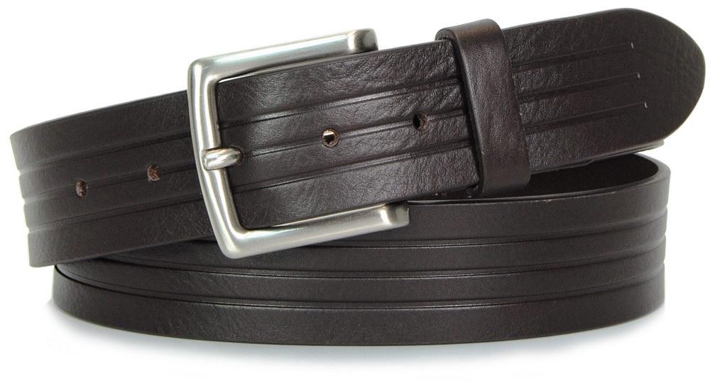 cintura moda da jeans cuoio marrone - Acciaio