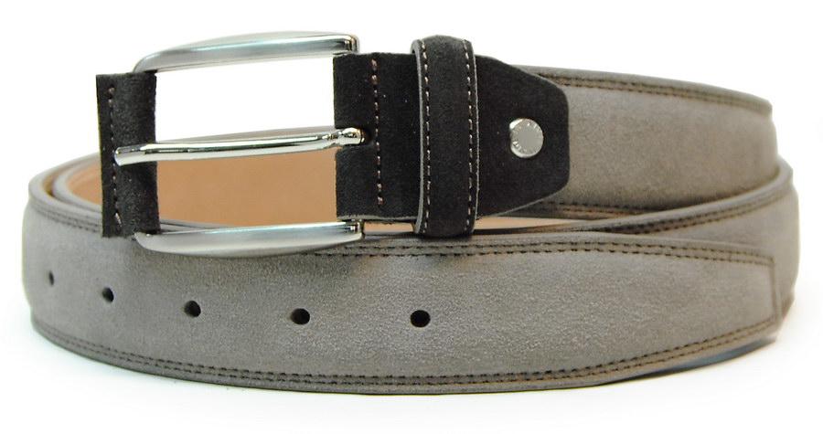 Cintura scamosciata taupe beige | Acciaio