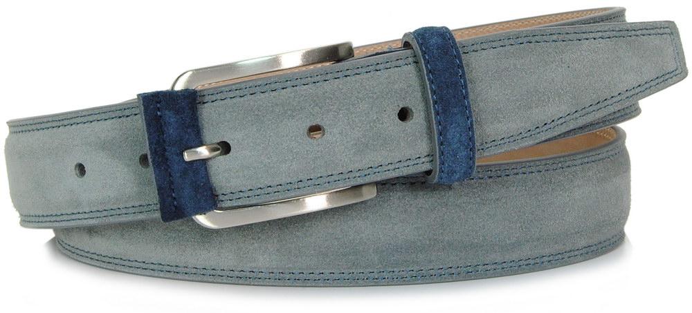 cintura scamosciata grigia - Acciaio