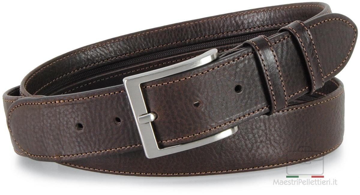 cintura con cerniera zip