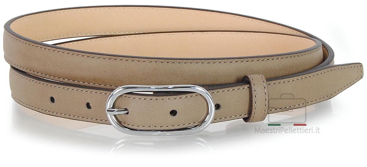 women's skinny belt