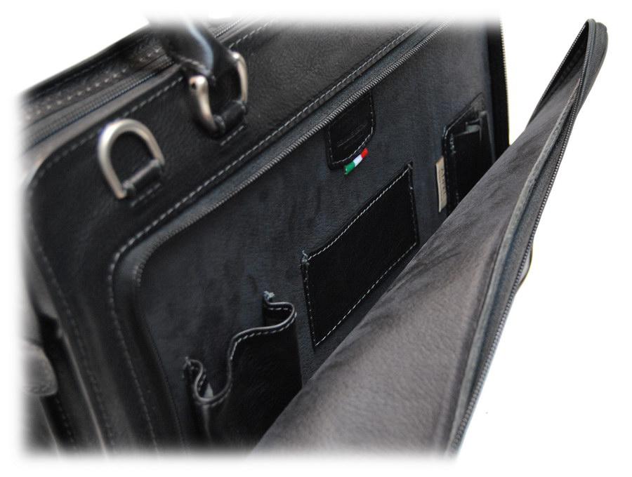 dettaglio - tasca anteriore della borsa da donna adpel 3012