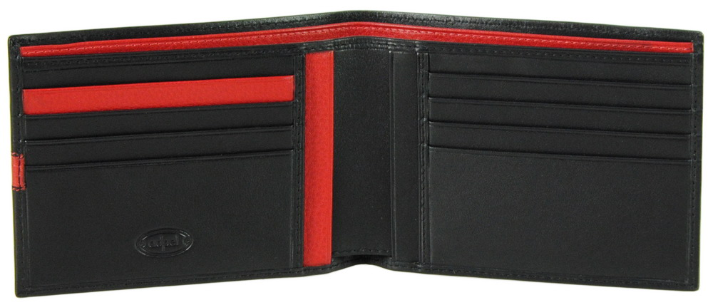 Soft leather wallet for man