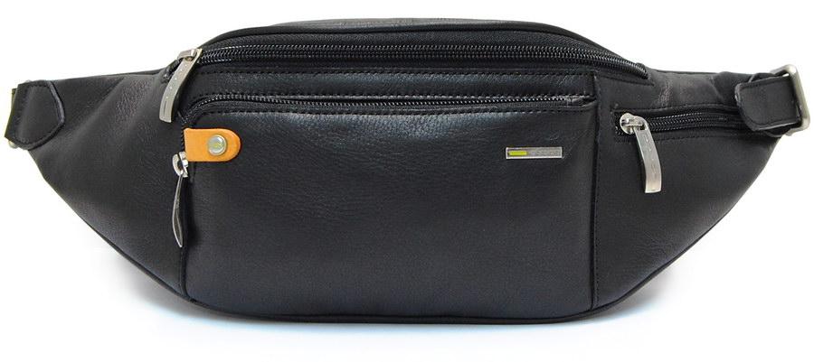 men's waist-bag leather