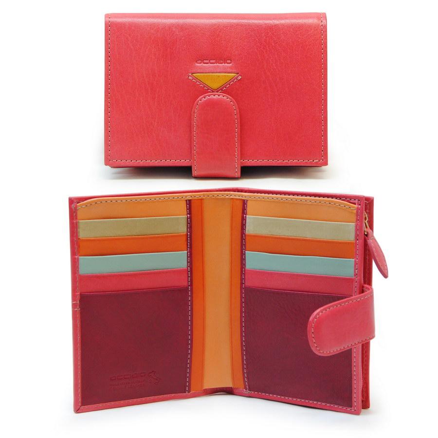 portafoglio donna multicolore