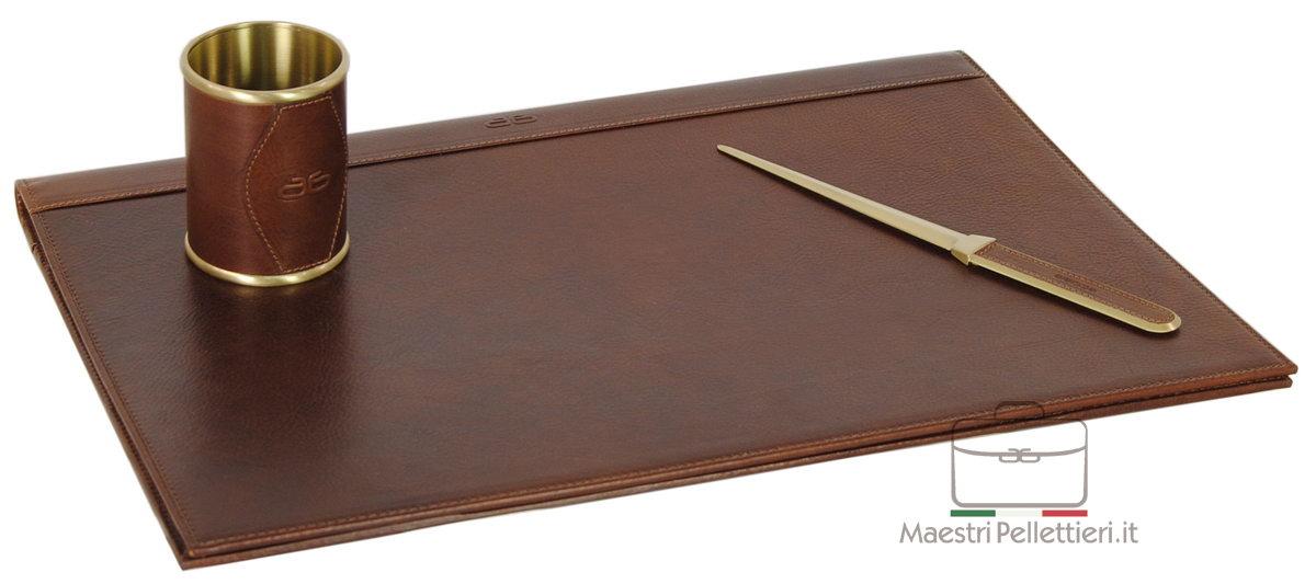 Set da scrivania pelle scrittoio regalo
