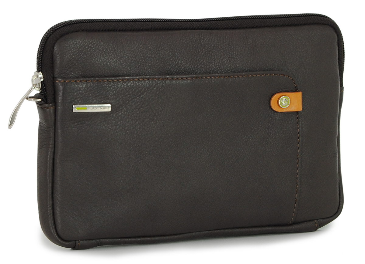 Man's Wrist bag leather clutch