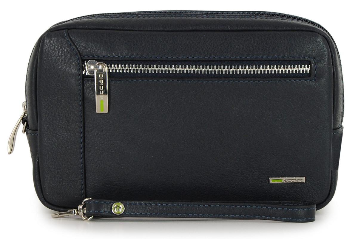Handgelenktasche Herrenhandtasche aus Leder