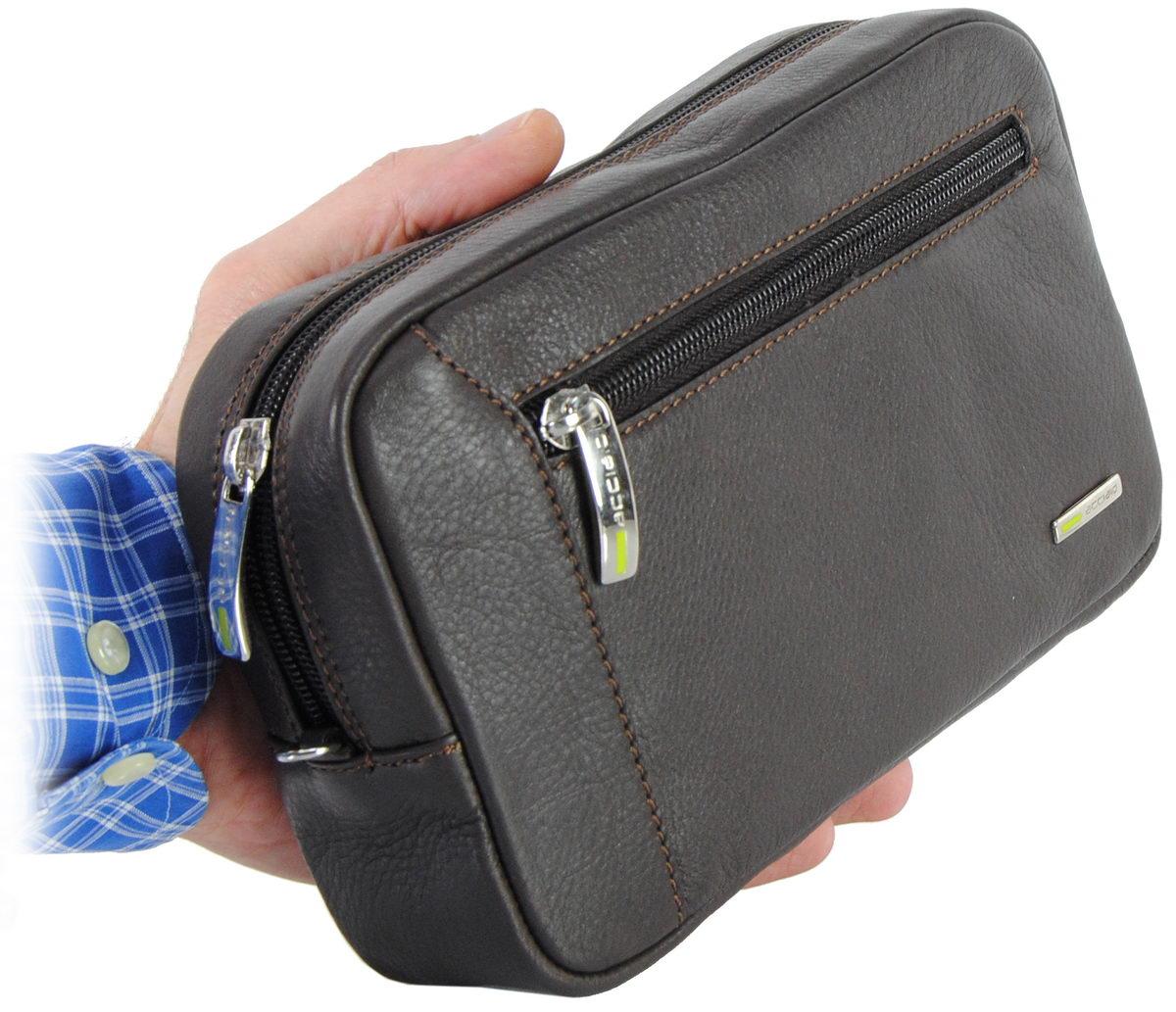 borsello a mano pochette uomo