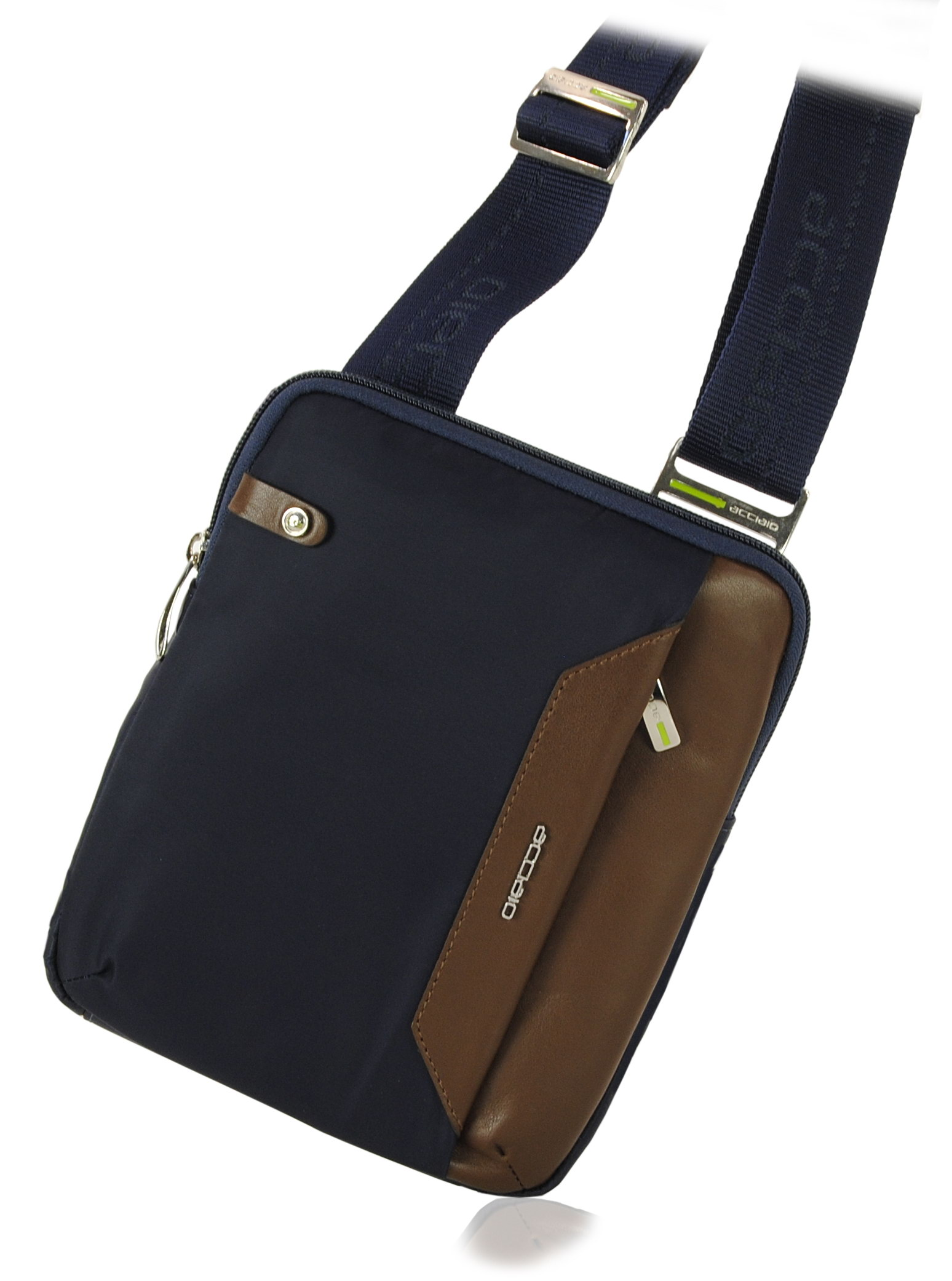 Man shoulder bag blue
