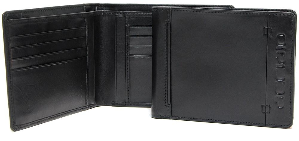 portafoglio nero da uomo
