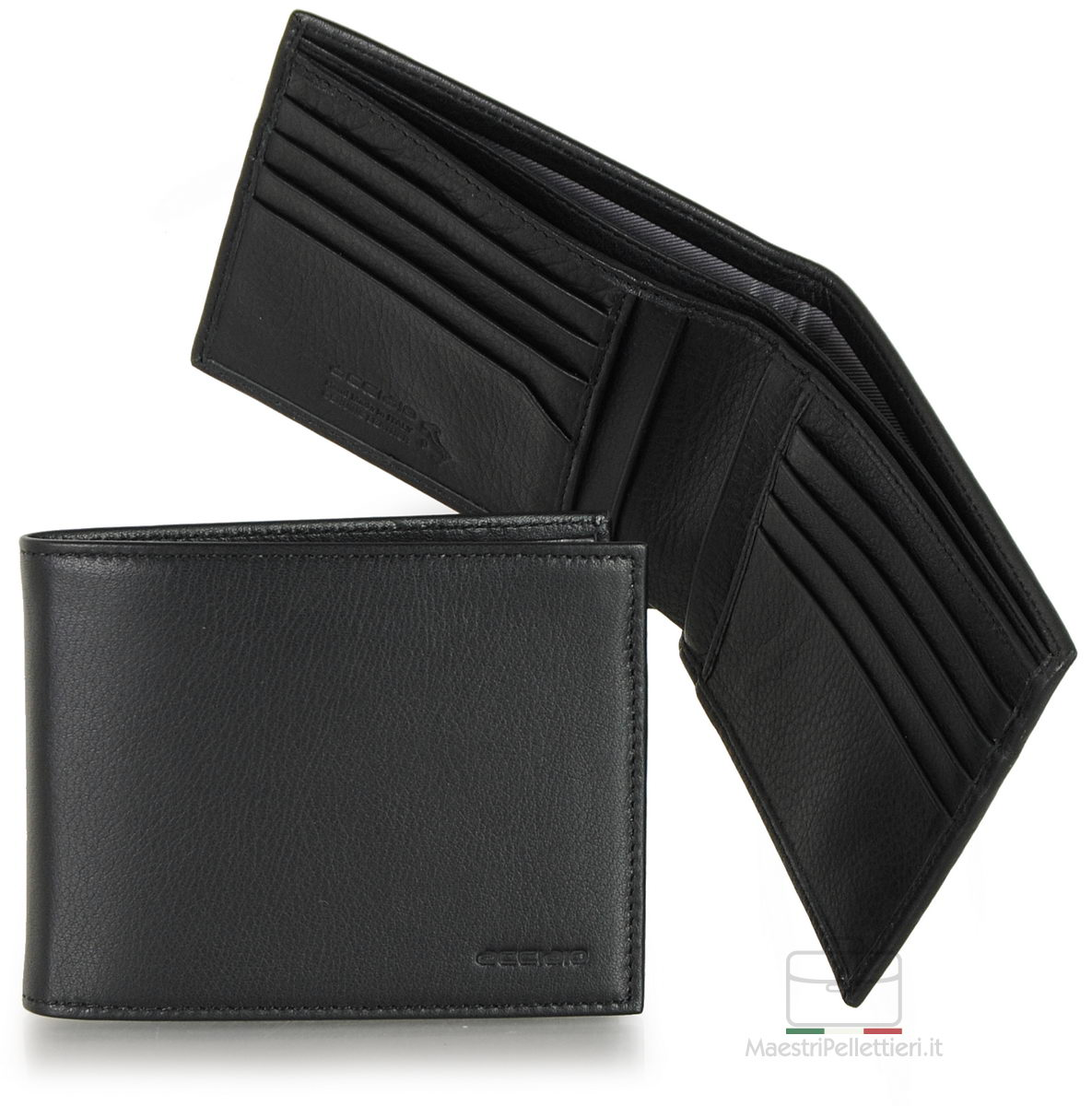 portafoglio uomo nero